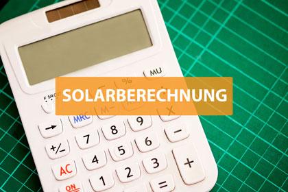 SOLARBERECHNUNG